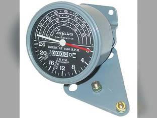 Tachometer Gauge - With Brackets Massey Ferguson TO20 TO30 1751311M1