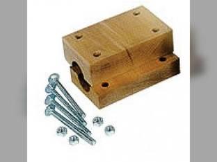 "Straw Walker Wood Block Bearing Set - 5-1/2"" John Deere 6601 6620 6600 6622 H119613"