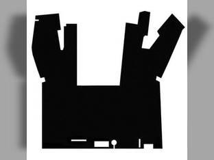 Cab Foam Floor Mat - Stopler Cab - Black John Deere 4520 4020 3010 4620 4010 4000 3020 4320