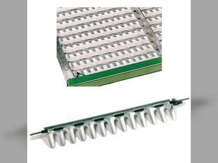 Top Chaffer Sieve Adjustable Long Finger International 1480 1482 Case IH 1680 1682 1330689C3