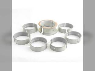 """Main Bearings .010"""" Oversize White 2-135 2-144 4-144 2-155 Oliver 2050 2150 167531A"""