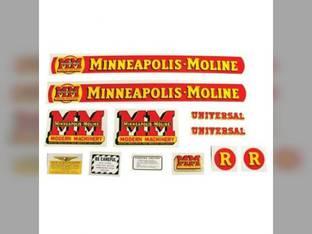 Tractor Decal Set R Mylar Minneapolis Moline R