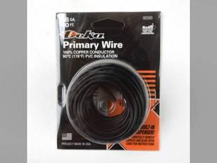 Wire Primary 18 Gauge 40' Black