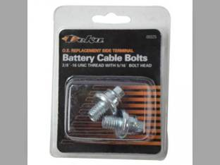 "Battery Short Side Terminal Bolts 3/8"" 16 UNC Thread"