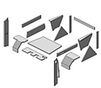 Upholstery Kit - Black