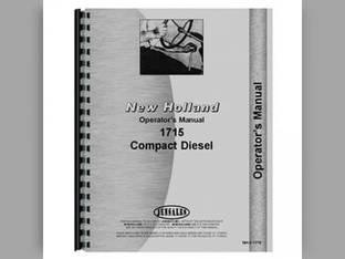 Operator's Manual - 1715 New Holland 1715