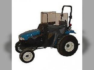 Heater Cab Kit Blue Vinyl 5000 5100 6600 7000 7100 7600 Ford 7600 6600 5000 7000 5100 7100