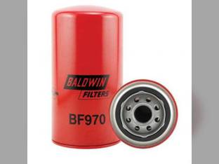 Filter - Fuel Spin On BF970 Challenger / Caterpillar Steiger Caterpillar New Holland TR86 International 21256 21026 21456 2856 3616 1456 White 2-180 4-150 Ag-Chem Case IH Challenger / Caterpillar