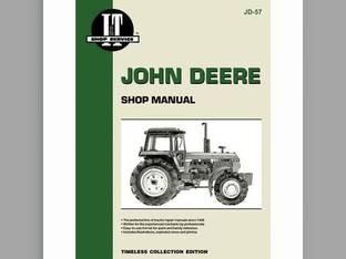 I&T Shop Manual Collection John Deere 4050 4450 4850 4250 4650