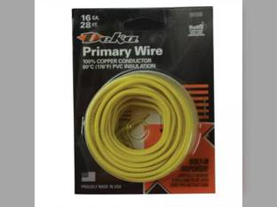 Wire Primary 16 Gauge 28' Yellow