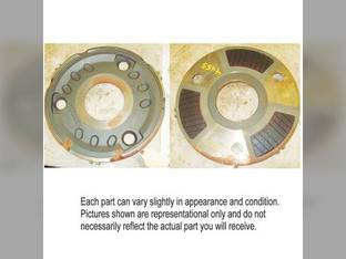 Used Brake Plate with Linings John Deere 4050 4240 4250 4555 4255 4055 4320 4440 4000 4040 4430 4450 4230 4455 4020 RE33013