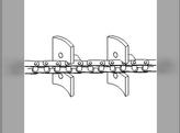 Clean Grain Elevator Chain
