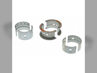 "Main Bearings - .010"" Oversize - Set Massey Ferguson 245 202 2135 235 230 50 135 150 TO35 2200 35 204 837156M91 Continental Z134 Z145"