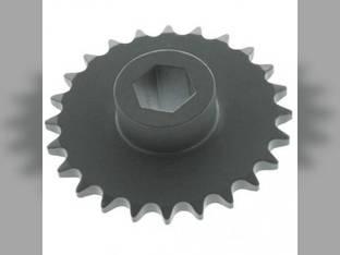 Fertilizer Transmission Chain Gear Sprocket - 24 Tooth John Deere 7000 7000 7200 7200 1750 1750 A79476