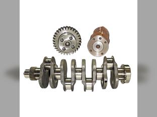 Crankshaft, 4 Cylinder, Diesel