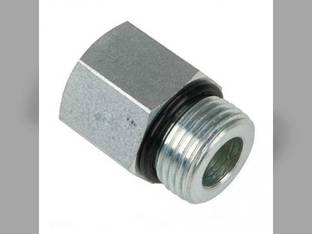 """Hydraulic Adapter Solid Straight 3/4"""" Female ORB to 7/8"""" Male ORB 2H10120RF14RM 43A17"""