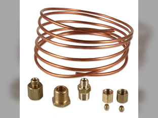 Gauge, Oil Pressure, Line Kit