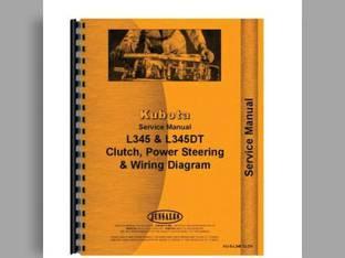 Parts Manual - L345 L345DT L345W Kubota L345 L345 L345 L345 L345