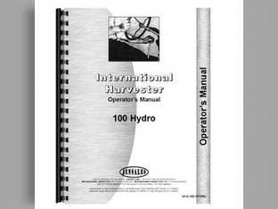 Operator's Manual - 100 Hydro International Hydro 100