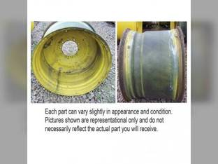 """Used 25"""" x 38"""" 10 Bolt Rim 11"""" Pilot Hole for Tractors"""