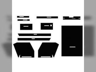 Cab Foam Kit with Headliner Year-A-Round Cab Black Allis Chalmers 185 190XT 220 220 D21 190 180