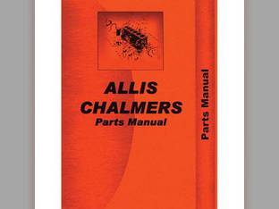 Parts Manual - D15 D15 Series II Allis Chalmers D15 D15