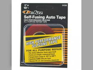 Battery Cable Self-Fusing Tape 10' - Red