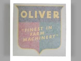 "Tractor Decal Finest in Farm Machinery 6"" Vinyl Oliver 60 1800 77 66 1950 Super 77 1755 70 2150 770 1655 880 550 1955 88 1555 1600 660 Super 88 1550 1750 Super 55 1850 1650 1855 1900 Super 66 2050"