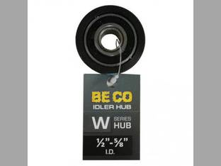 """Idler Hub W-Series 5/8"""" Bore with 1/2"""" Reducing Bushing Included"""