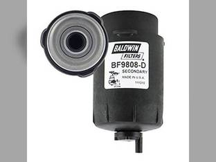 Filter - Secondary Fuel with Drain Element BF9808 D John Deere 6430 Premium 6140D 6330 6130 6630 7130 6230 6125D 1010 6330 Premium 6430 6130D 6530 6230 Premium 6100D 6115D 5095M 5095M 5105M 5085M