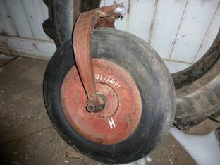 Single Front Wheel Assy