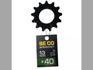 Weld-On Sprocket #40 Chain 13 Tooth V-Series Hub