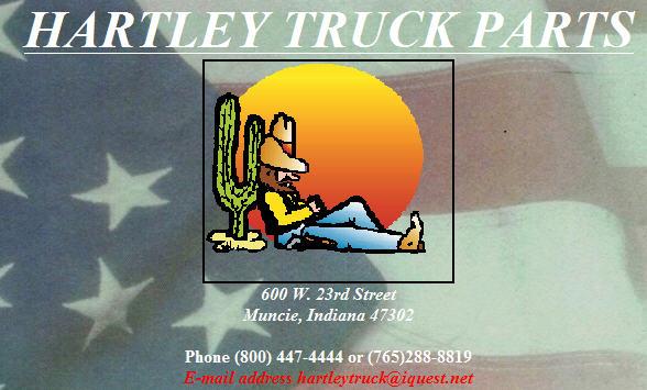 HARTLEY TRUCK PARTS CO.