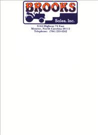 BROOKS SALES, INC. Logo