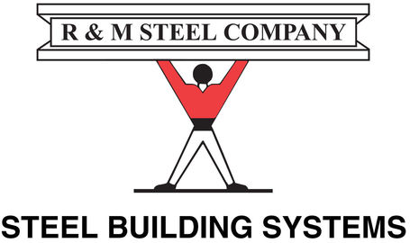 R & M STEEL CO. Logo