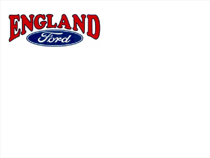 ENGLAND FORD
