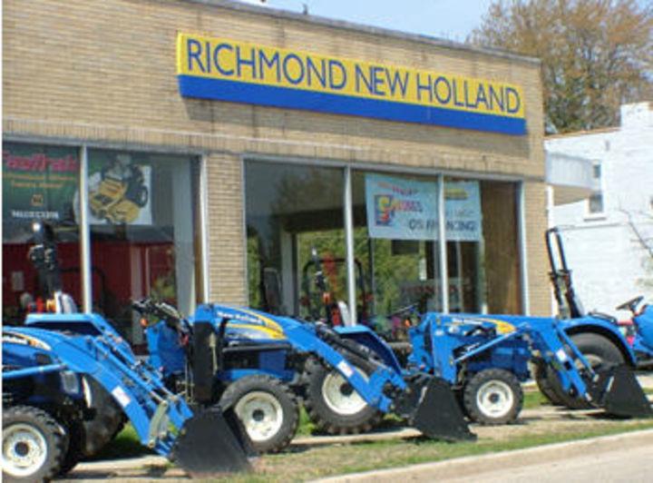 New Holland Dealership : Richmond new holland tractor farm equipment dealer in