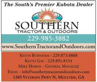 SOUTHERN TRACTOR & OUTDOOR INC