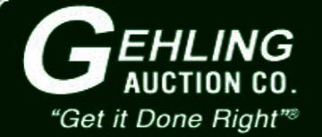 GEHLING AUCTION, INC Logo