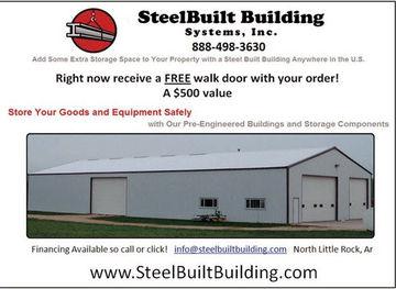 STEEL BUILT BUILDINGS