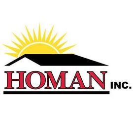 HOMAN INC. Logo