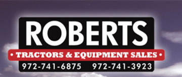 ROBERTS TRACTOR & EQUIPMENT SALES Logo