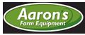 AARON'S FARM EQUIPMENT Logo