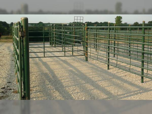 20 Corbin Steel Products Continuous Fence Panels Chutes