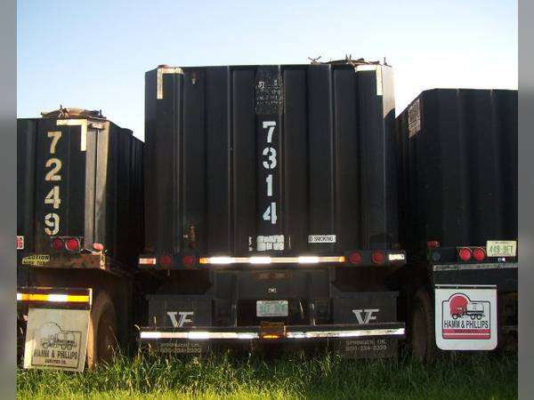 2002 VE Enterprises frac tank