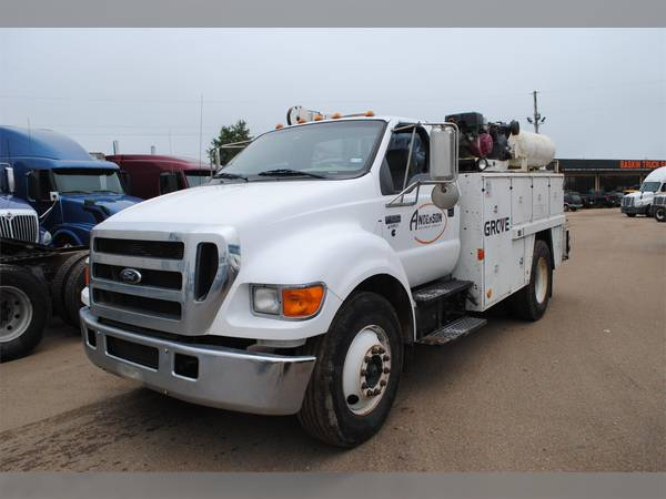 2007 Ford F650 Service  Utility  Mechanic Truck  7v436475