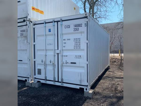 2019 Cimc used 20ft container