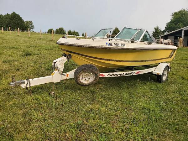 1981 Cobia Charger Boat & Shoreland'r Trailer