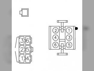 Radio Wiring Harness - John Deere 9400 9500 6620 3300 6600 9600 8820 7720