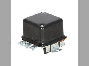 Voltage Regulator - 12 Volt - 4 Terminal - Flat Mount International Cub John Deere 1010 430 2010 420 Oliver 880 770 Super 55 550 1800 1600 77 Allis Chalmers D15 D17 D12 WC D10 D19 D14 Cub Cadet
